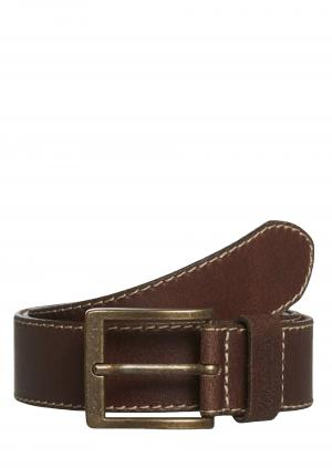 ζώνη WRANGLER Basic Stitched Belt Brown W0081US85