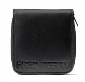 πορτοφόλι FRED PERRY Embossed PU Zip Around Wallet L7247-102 L7247_102