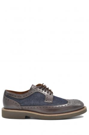 παπούτσια derby brogues FRAU 3580_denim